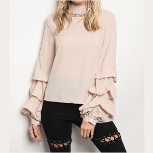 Tops - TOMMIE BEIGE TOP